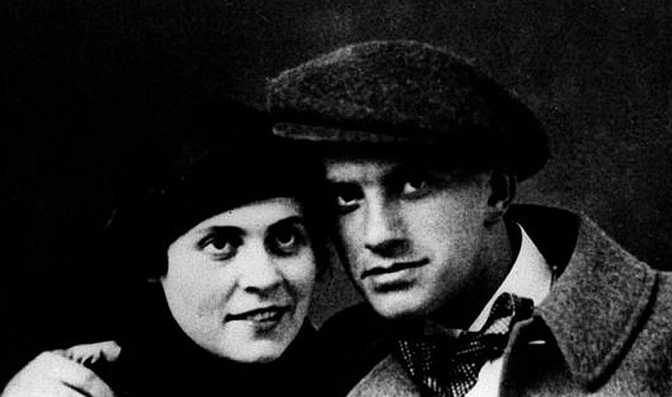 Поэт Маяковский и его главная муза Лиля Брик. Фото: Wikimedia Commons