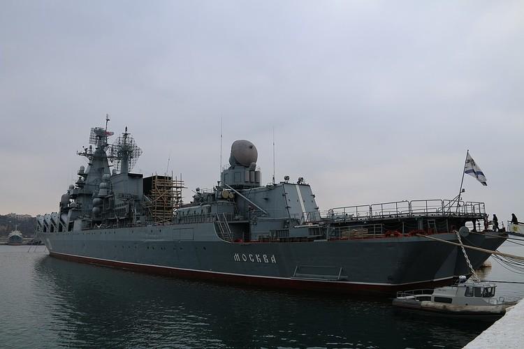 Красавец-крейсер.