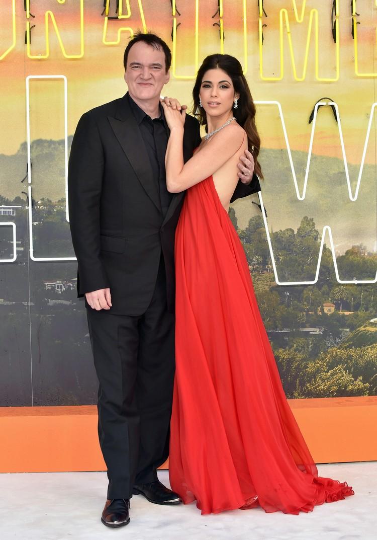 """На недавней премьере фильма """"Однажды в Голливуде"""" Даниэлла появилась в свободном платье."""