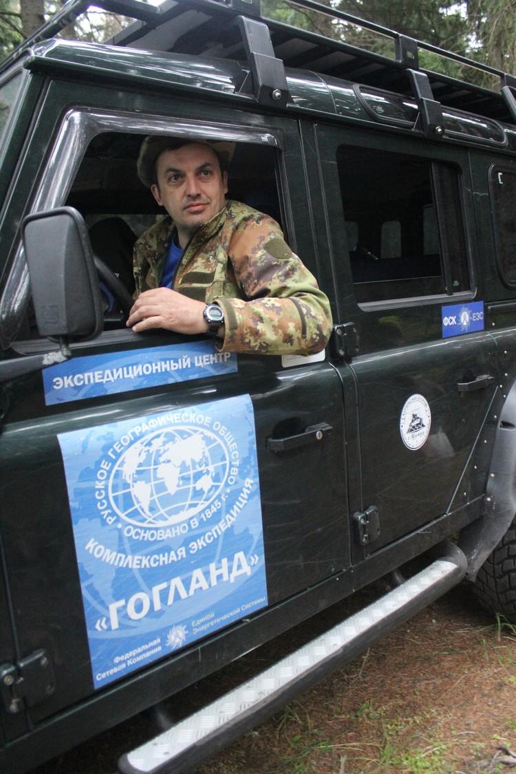 """Бессменный руководитель экспедиции """"Гогланд"""" А.В. Хуторской"""
