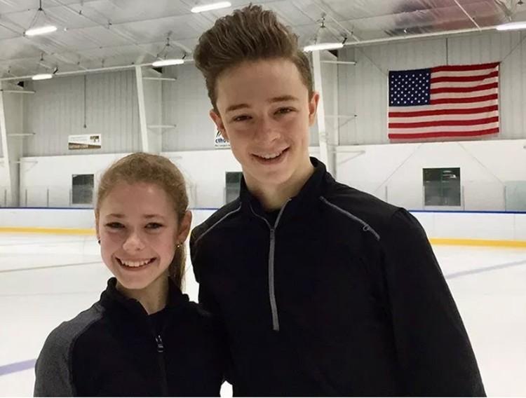 Аня Лаврова и Максвелл Гарт. ФОТО: Ice-dance.com