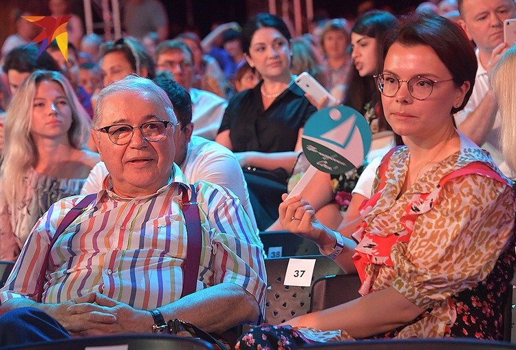Евгений Петросян и Татьяна Брухунова.