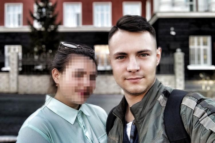 Евгений Кочергин с девушкой. Фото: страница Евгения «ВКонтакте»
