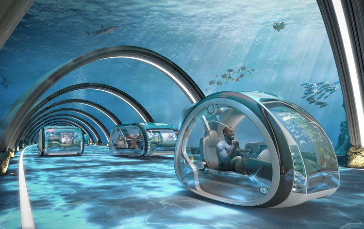 Проект магистралей под водой. Фото: Samsung