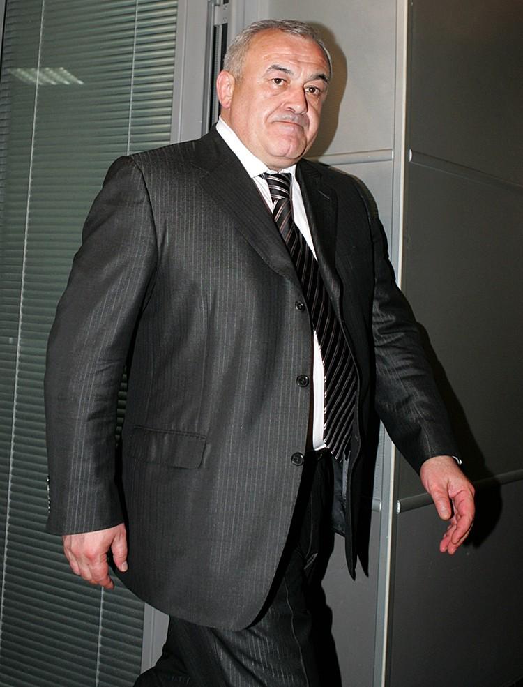 Таймураз Мамсуров, экс-глава Северной Осетии