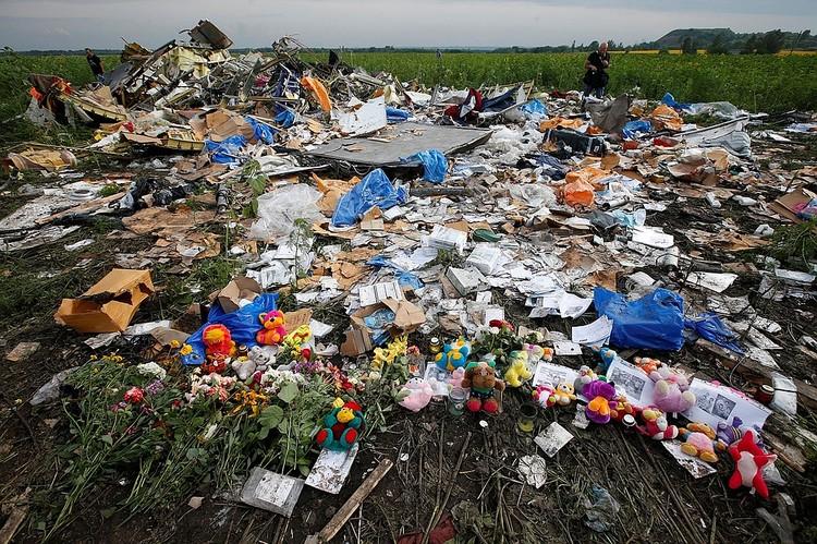Жертвами авиакатастрофы стали 298 человек