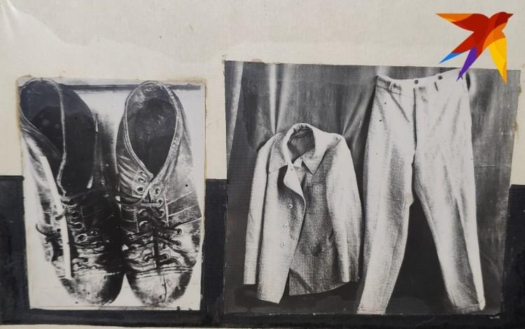 Обувь и одежда Винничевского. Фото: архив Свердловского ГУ МВД России