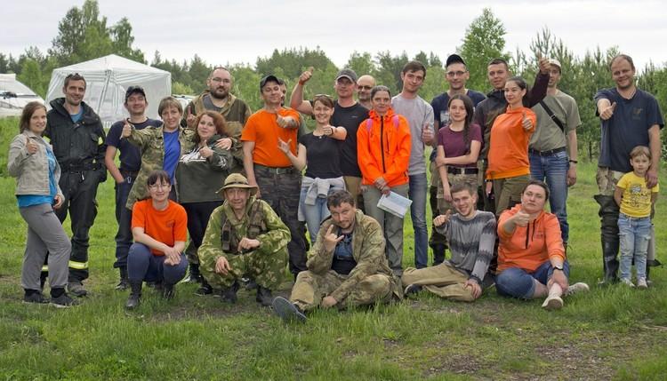 После удачных поисков. Фото: Поисковый отряд «Лиза Алерт»на Южном Урале