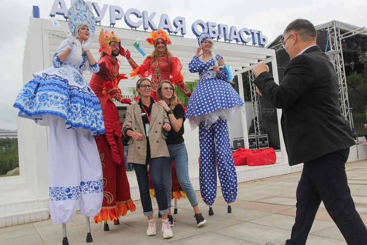 За два дня «Улицу Дальнего Востока» посетило 40 тысяч человек