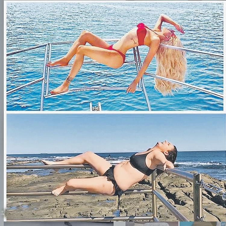 Гнем спинку. Это пародия на канадскую актрису, модель и блогершу Giselle Loren Lazzarato (Джиджи Великолепную). Которая вообще-то транссексуал - то есть когда-то была мальчиком. А по фото и не скажешь… Фото: instagram.com instagram.com