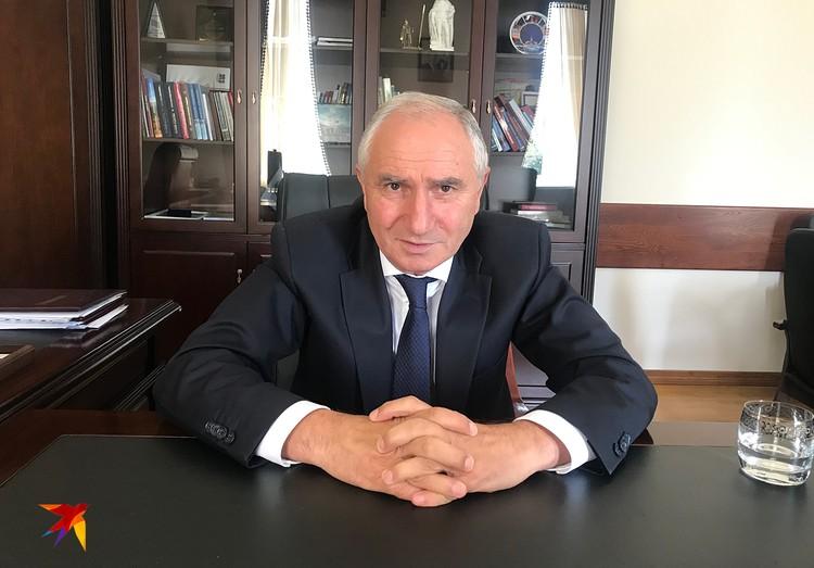 Премьер-министр Абхазии - Валерий Рамшухович Бганба