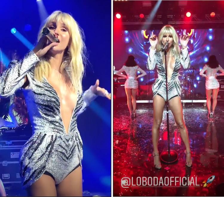 Певица исполнила для молодоженов несколько хитов. Фото:Инстаграм.