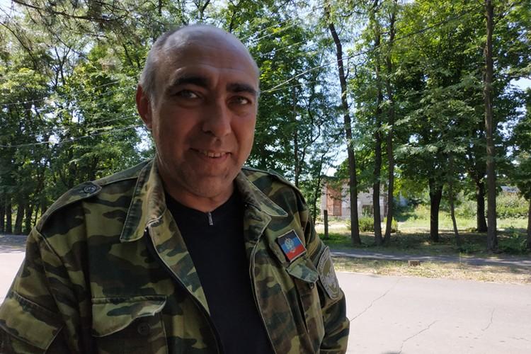Директор докучаевского зоопарка Игорь Сквирский