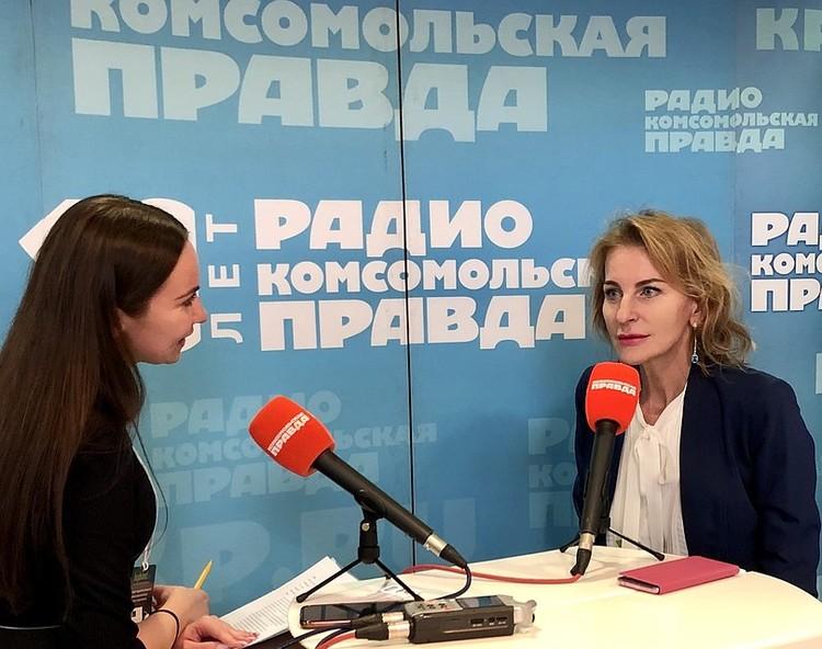 В «Открытой студии» Радио «Комсомольская правда» побывали многие участники выставки.