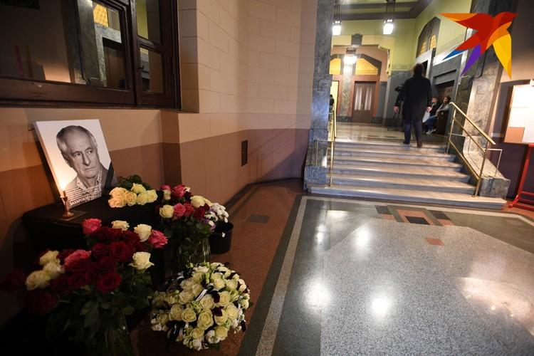 """Театра """"Ленком"""" прощается со своим легендарным режиссером Марком Захаровым."""