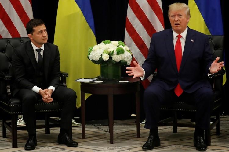 Зеленский и Трамп в последние время здорово навредили отношениям Украины со всеми странами Запада