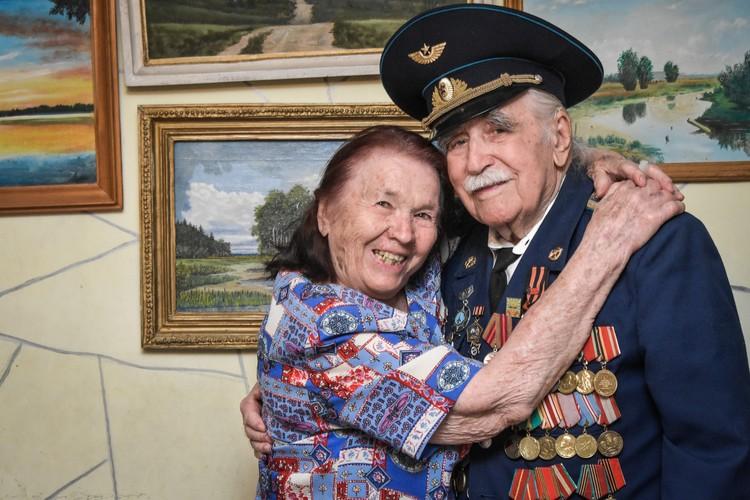 С супругой Марией Прокофьевной.