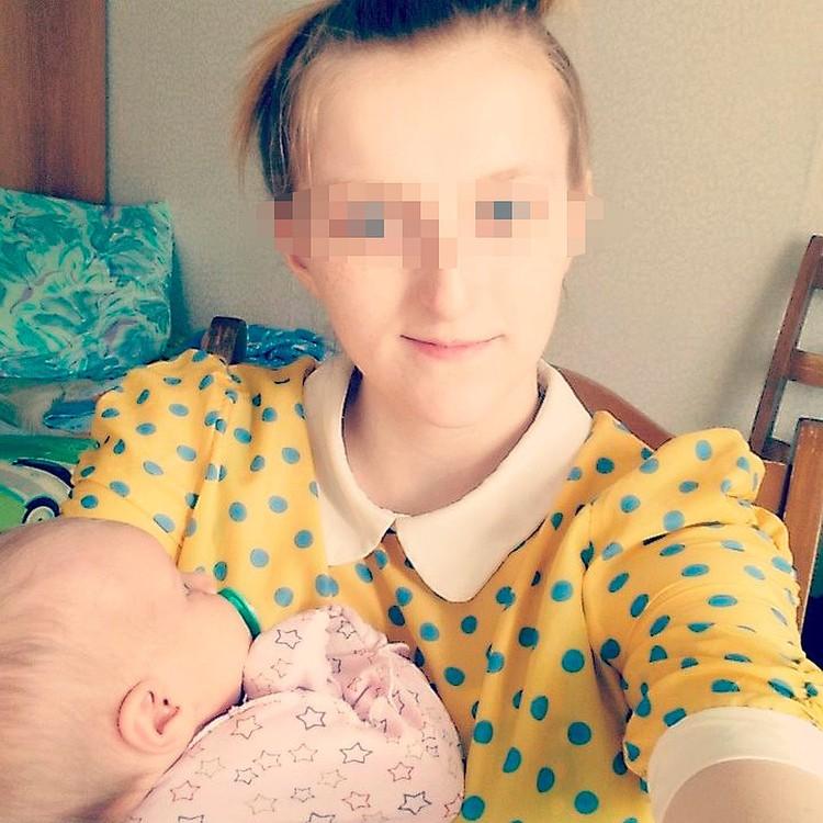 Сейчас челябинка воспитывает ребенка от гражданского мужа.