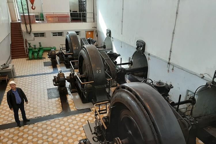 ГЭС, несмотря на почтенный возраст, работает как часы.