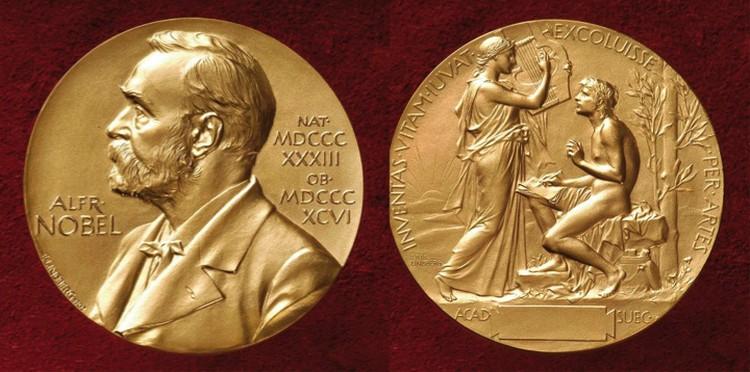 Нобелевская медаль. Плох ученый, который о такой не мечтает.