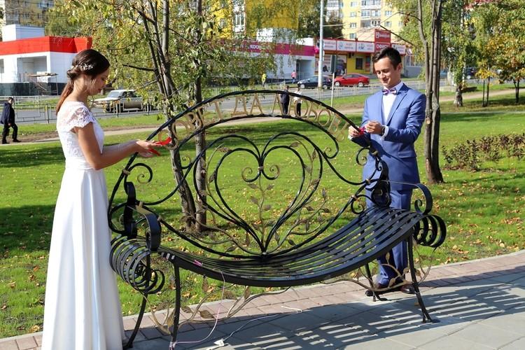 Сквер Молодоженов. Фото: администрация Ижевска