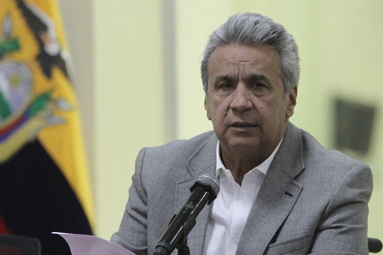 Президент Эквадора Ленин Морено.