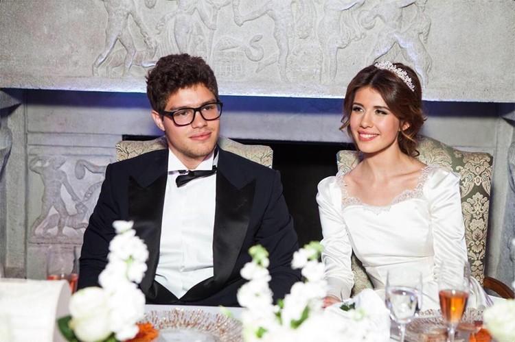 Свадебное фото Антона Немцова и его супруги Анны.