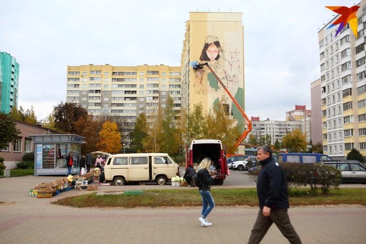 Стрит-арт станет частью триптиха, образы которого будут символизировать современную Беларусь.