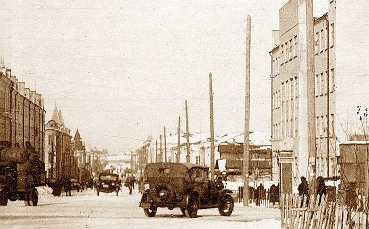 Так в годы Великой Отечественной войны выглядела столица Башкирской АССР. Фото: из архива А. Чечухи.