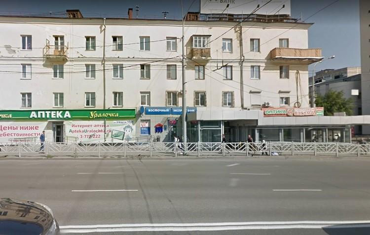 Место где начался конфликт спортсменов и южан. Фото: Google maps