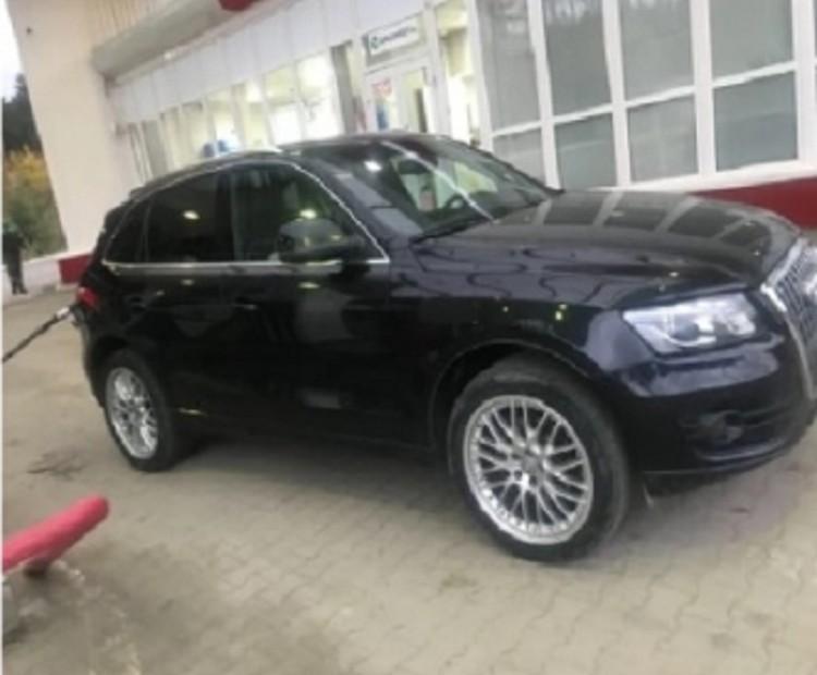 Та самая Audi из-за которой убили Ксению. Фото: СОЦСЕТИ