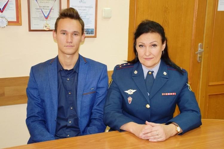 Павел, как и его мама из УФСИН, хочет работать в правоохранительной системе