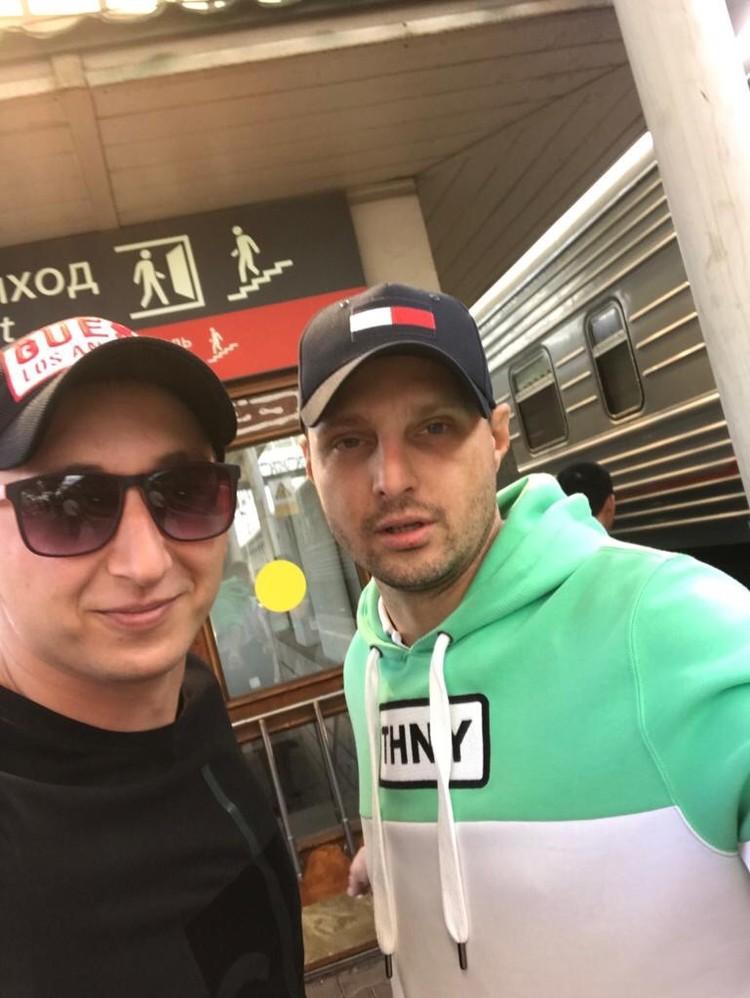 Андрей Шилов и Дмитрий Сисигин