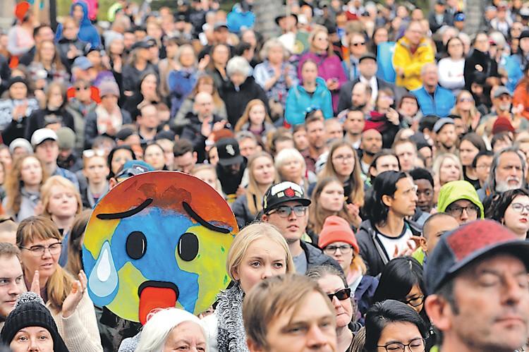 Громкие заявления экологических активистов вызывают нездоровый ажиотаж у населения. Автор фото: Amber Bracken/REUTERS