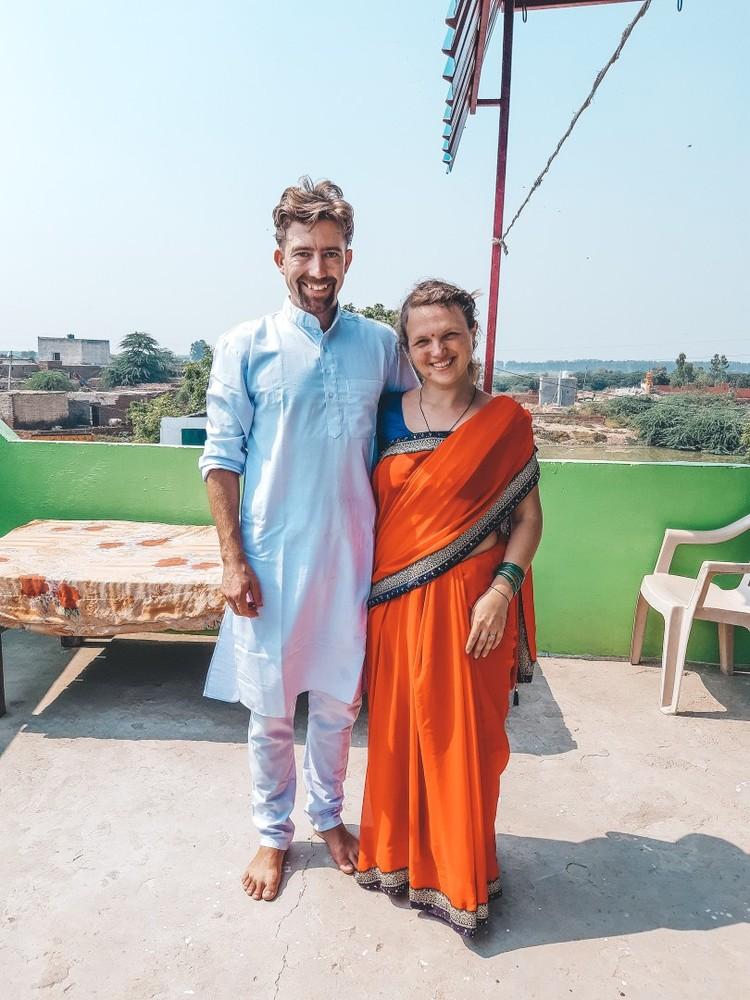 Сари - традиционная одежда для индийских женщин. Фото: личный архив