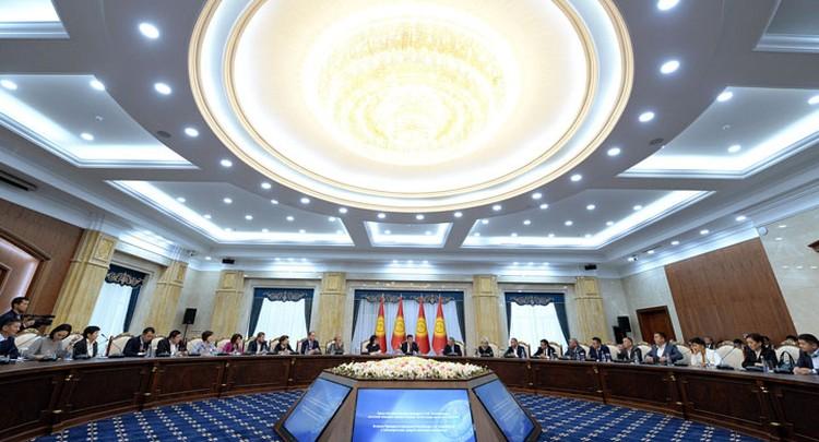 На встречу с президентом пригласили 45 журналистов.