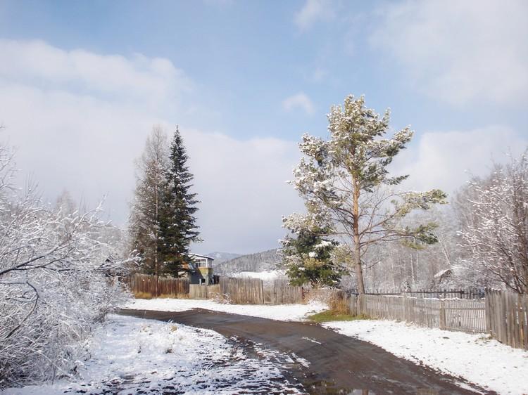Дачные окраины поселка Большая Ирба. Зимой ирбинцы живут в пятиэтажках, а на лето переселяются поближе к природе