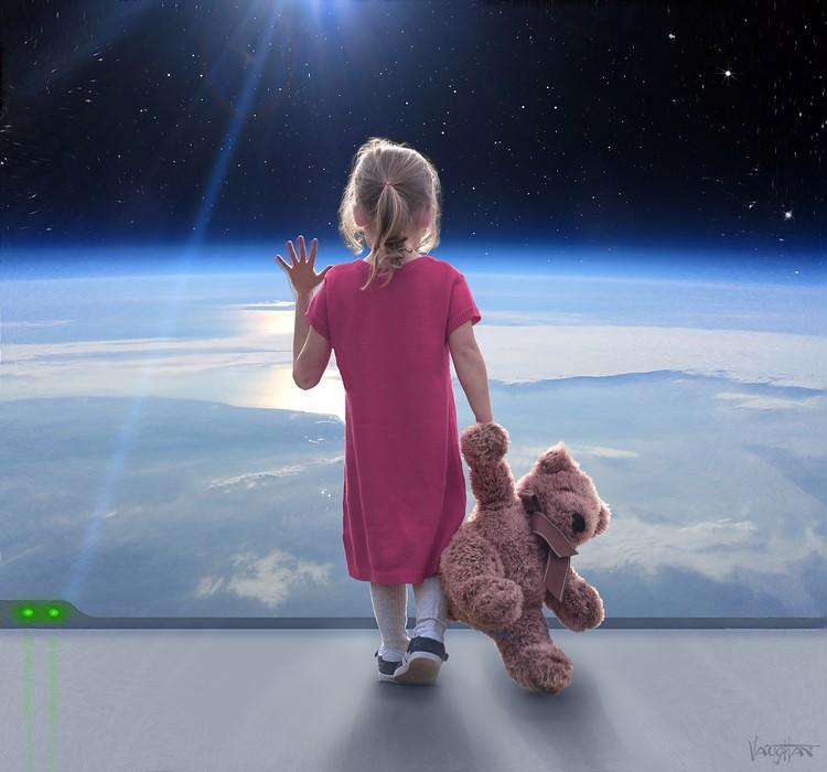 Первый ребенок в космосе родится через 25 лет. Фото: Джеймс Вон/Министерство информации и коммуникаций Асградии.
