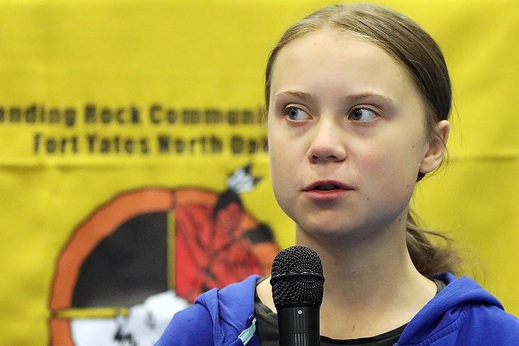 Эко-активистка Грета Тунберг