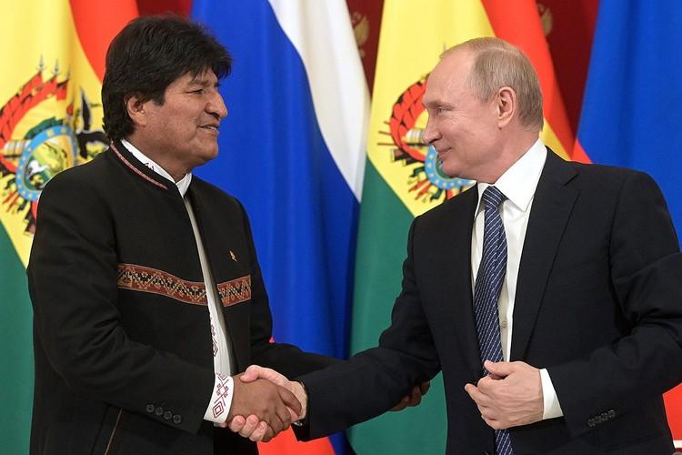 После переговоров с Владимиром Путиным, июль 2019 г.