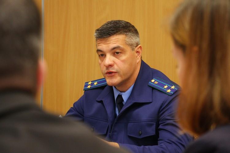 Защита трудовых прав граждан является одной из первоочередных задач органов прокуратуры, отметил Альберт Новопашин. Фото Ивана Горбунова