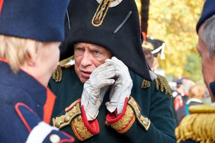 За годы в реконструкции Олег Соколов «прошел путь» от рядового до дивизионного генерала.