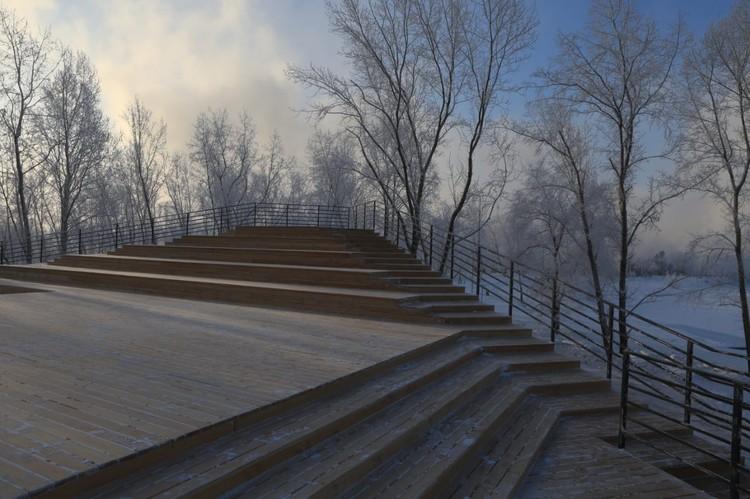 Здание построили к Универсиаде в конце прошлого года. Фото: пресс-служба администрации Красноярска.