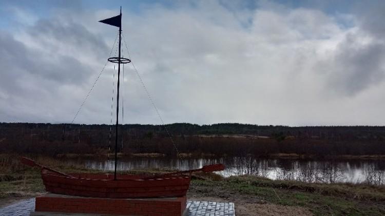 Постройка арт-зоны по проекту «Баркас Ношульской пристани» почти готова. Фото: Группа ТОС «Пионер» ВКонтакте