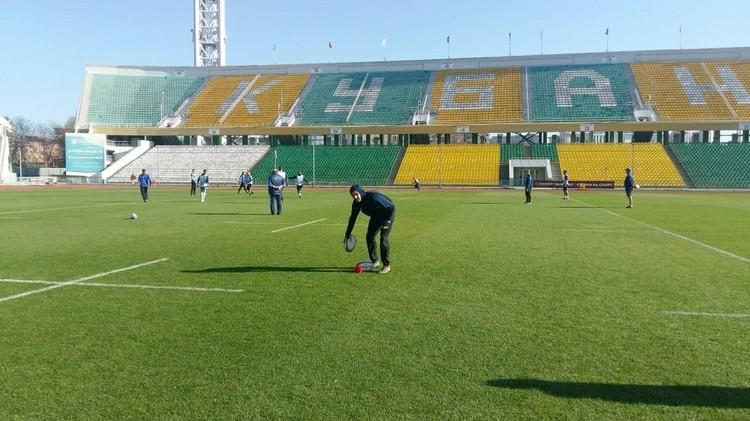 """Стадион """"Кубань"""" готовится принять матчи еврокубка"""