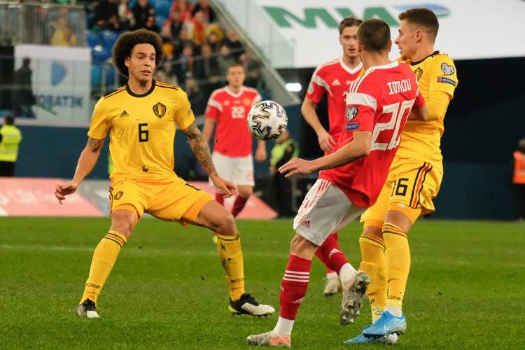 Бельгийцы явно держали преимущество весь матч