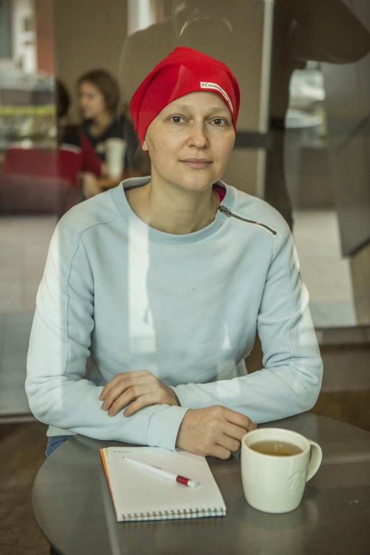 Оксана Соловьева верит: «Отдавая добро другим, мы сами его получаем в ответ» Фото: Фонд борьбы с лейкемией