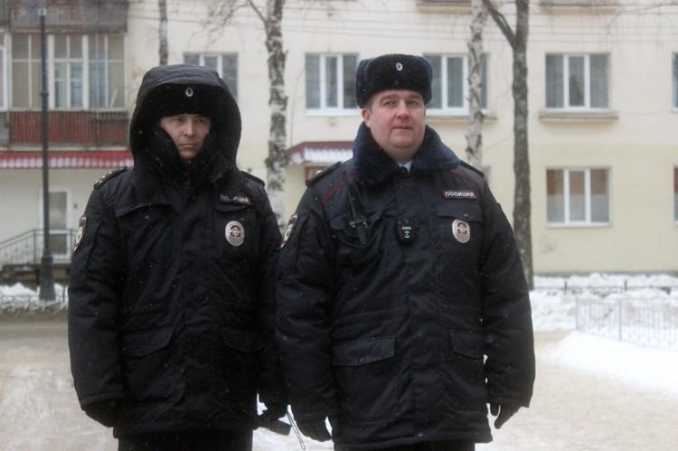 За порядком следили полицейские