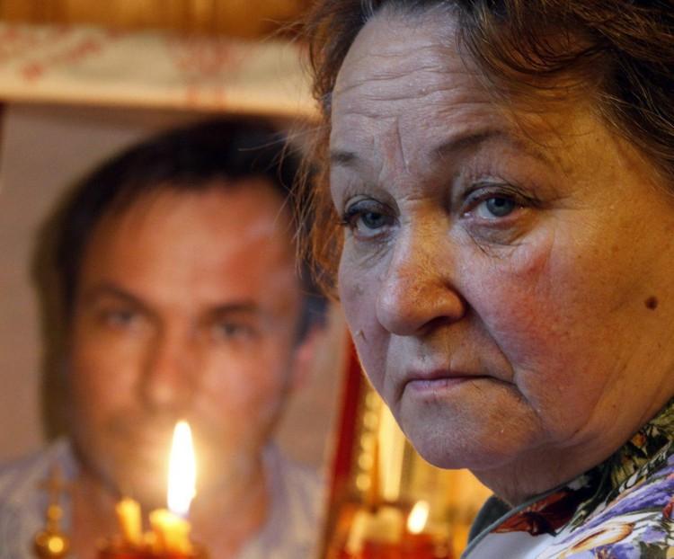 Мать летчика Ярошенко, отбывающего тюремное заключение в США. Фото: Валерий Матыцин/ТАСС