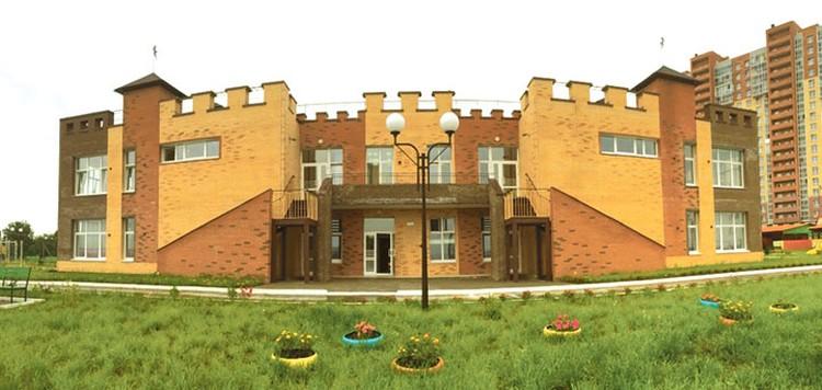 Детский сад построили в виде замка, чтобы дети ходили сюда с удовольствием. Фото: «Восток Центр Иркутск»